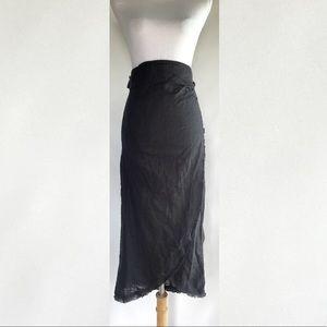 NWT Free People Wrap Skirt - sz S